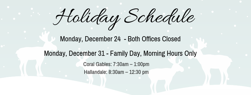 2018 Dec Family Day Events & Holiday Hours