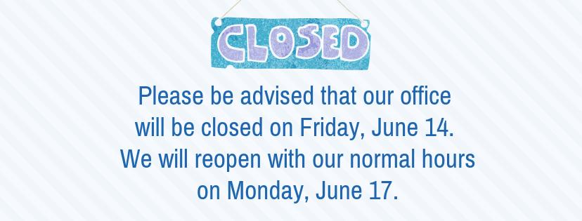 June Office Closure
