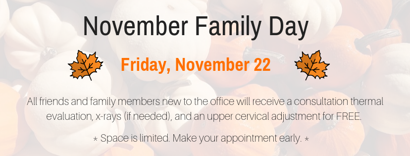 November 2019 Family Day Events