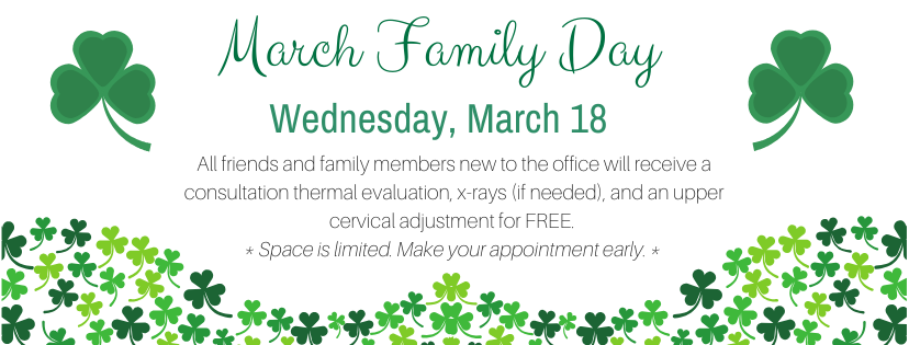 March 2020 Family Day